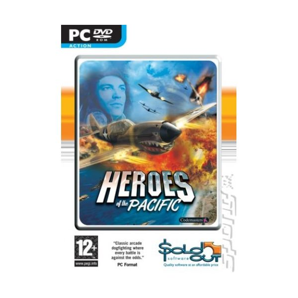 Heroes Of The Pacific PC Usado