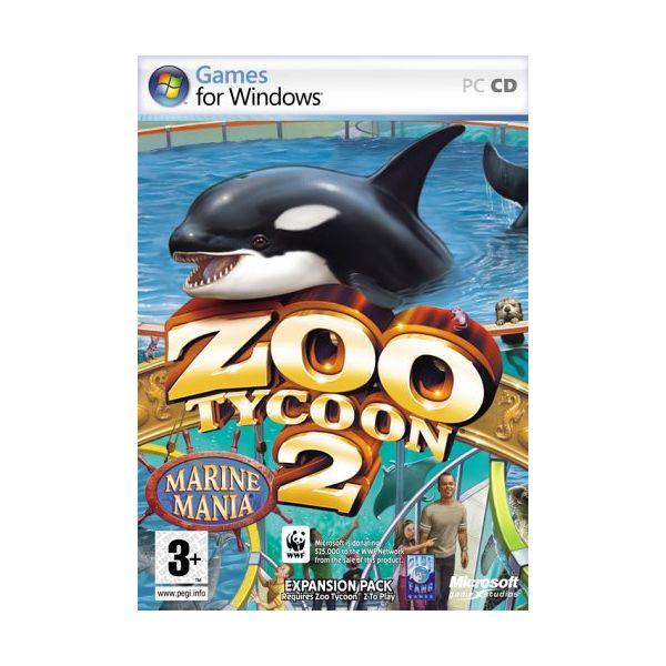 Jogo Zoo Tycoon 2 Marine Mania Expansion Pack PC