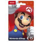 Nintendo Wii U / 3DS Eshop Card 15 Euros
