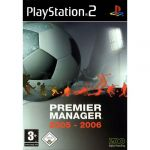 Jogo Premier Manager 2005-2006 PS2 Usado
