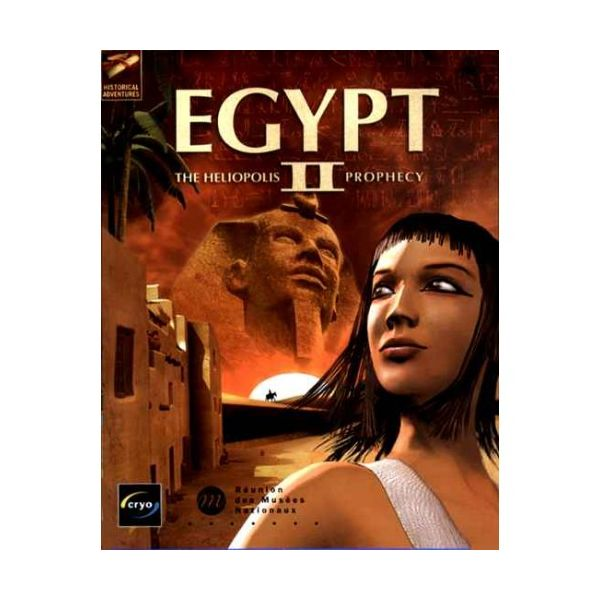Egypt 2 The Heliopolis Prophecy PC Usado
