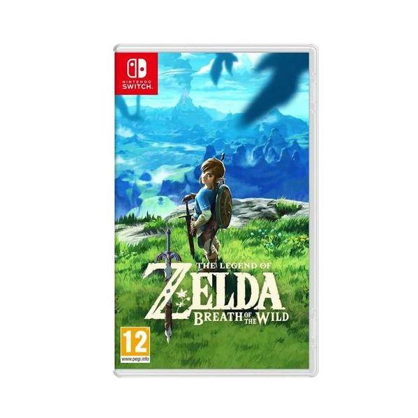 Jogo Legend of Zelda Breath of the Wild Nintendo Switch