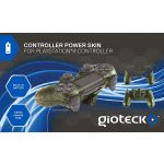 Gioteck Controler Power Skin with Battery Camo PS4