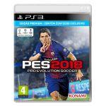 Jogo Pro Evolution Soccer 2018 PS3