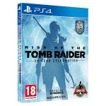 Jogo Rise of The Tomb Raider 20 Year Celebration Artbook Edition PS4 Usado